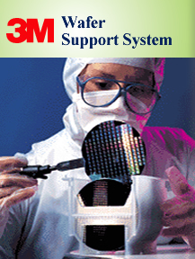Looking at Wafer and 3M Wafer Support System Image